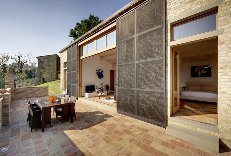 Modern Terrace by Arcostudios Modern