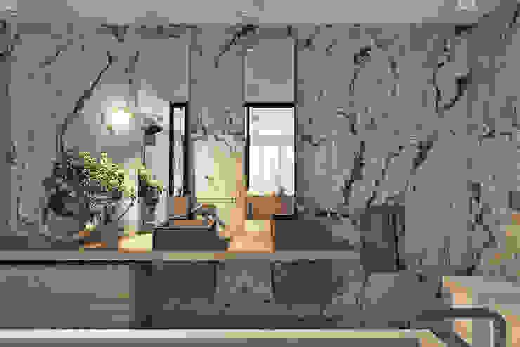 country villa, St. Petersburg Ванная комната в стиле минимализм от Angelina Alekseeva Минимализм