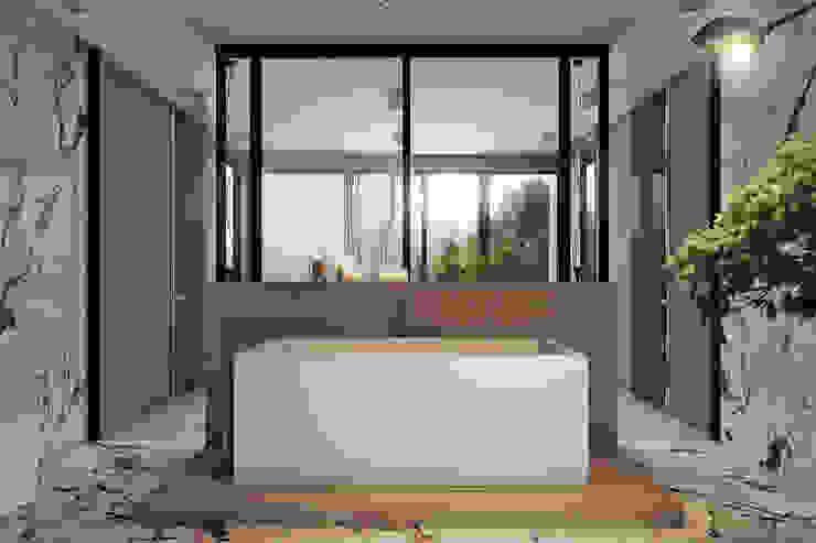 Angelina Alekseeva Minimalist style bathroom