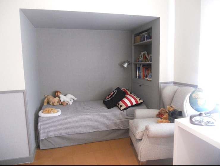 HABITACIONES INFANTILES Dormitorios infantiles de estilo mediterráneo de estudiorey Mediterráneo