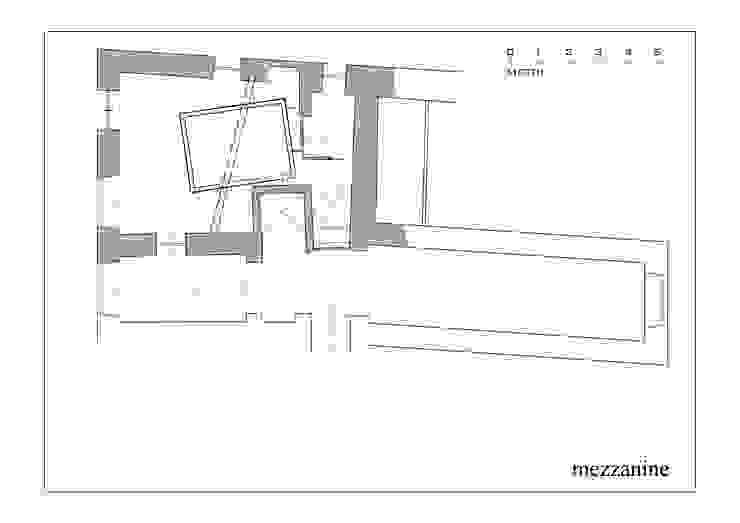 Hanging House Soggiorno in stile industriale di Fabio Barilari Architetti Industrial