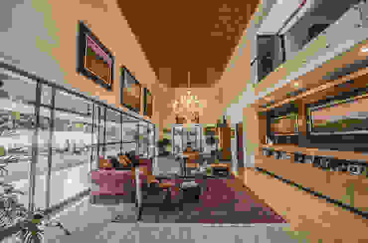Casa MN Salones de estilo moderno de Básico arquitectura Moderno