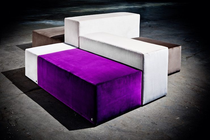 Couch <q>Varius</q>: modern  von BESPOKE GmbH // Interior Design & Production,Modern