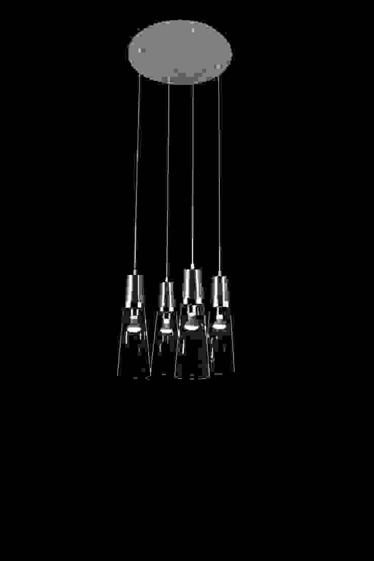 Eau de T.:  de estilo industrial de Luz Difusion, Industrial