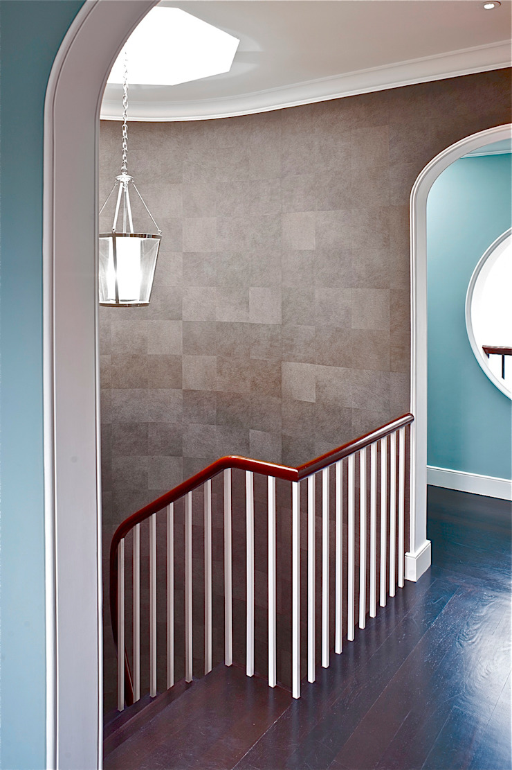top floor stairs Classic style corridor, hallway and stairs by Fisher ID Classic
