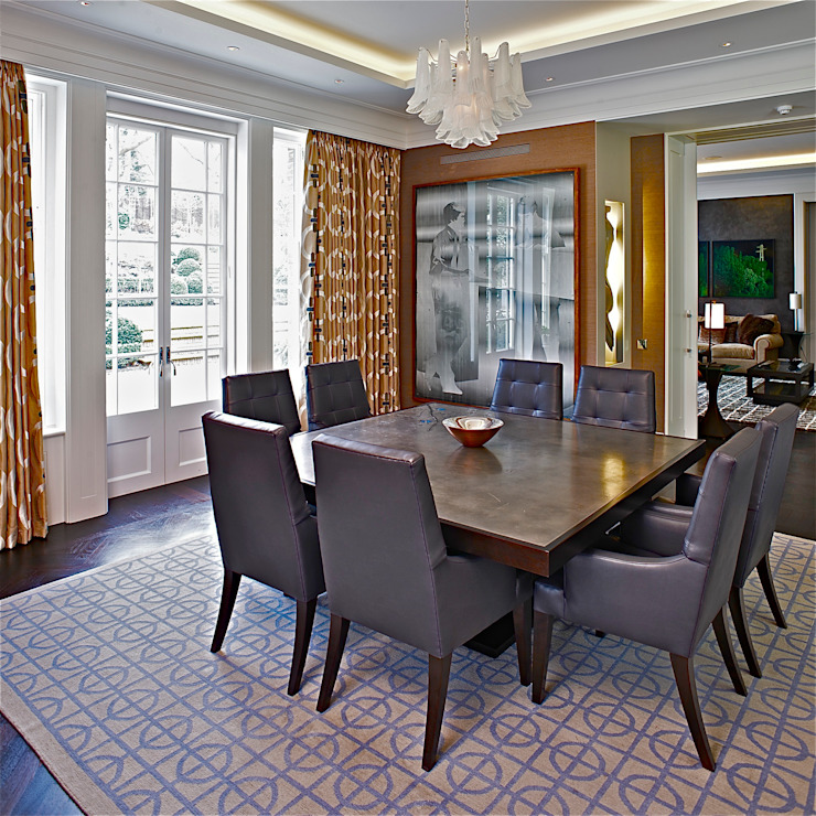 breakfast room Classic style dining room by Fisher ID Classic