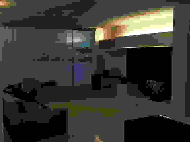 Modern Living Room by interny Modern