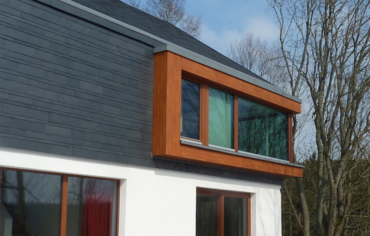 現代房屋設計點子、靈感 & 圖片 根據 Architekturbüro HOFFMANN 現代風