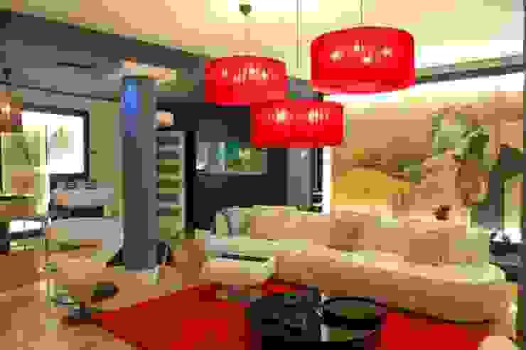 Ruang Keluarga Modern Oleh FrAncisco SilvÁn - Arquitectura de Interior Modern