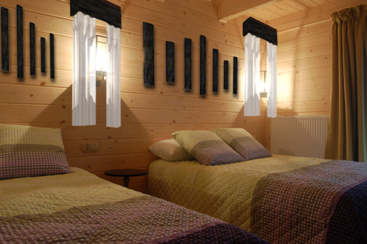 Hotel Rural Barnilka Hoteles de estilo rural de FrAncisco SilvÁn - Arquitectura de Interior Rural