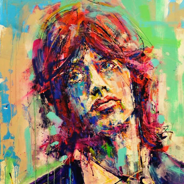 Mick Jagger:  de estilo  por CASAyARTE,Moderno