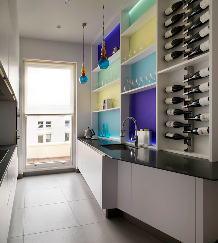 Belsize Park Gardens Kitchen by Living in Space
