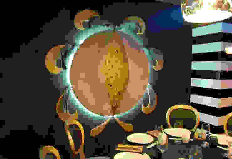 Restaurante Asiático Mütte Gastronomía de estilo asiático de FrAncisco SilvÁn - Arquitectura de Interior Asiático
