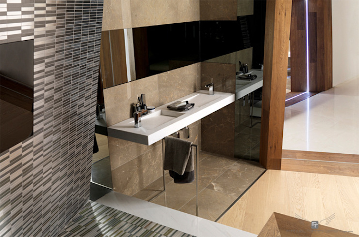 MANUEL TORRES DESIGN BathroomSinks White
