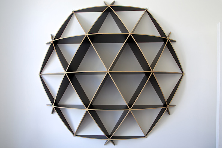 Hive shelf by Cassidy Hughes Interior Design Modern