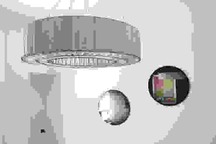 Chandelier detail by Cassidy Hughes Interior Design Modern