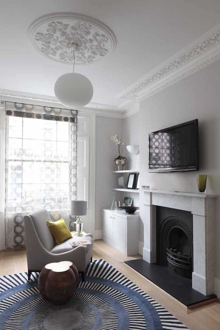 Chalcot Crescent Living room by Living in Space