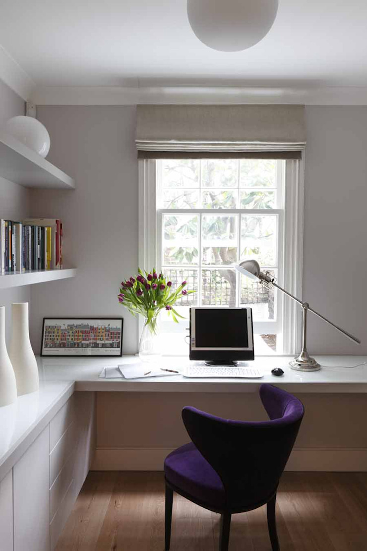 Chalcot Crescent Study/office by Living in Space