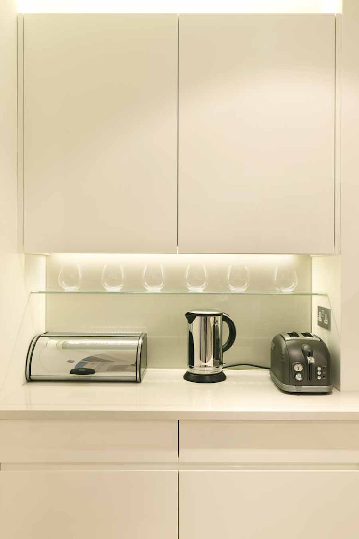 Chalcot Crescent Kitchen by Living in Space