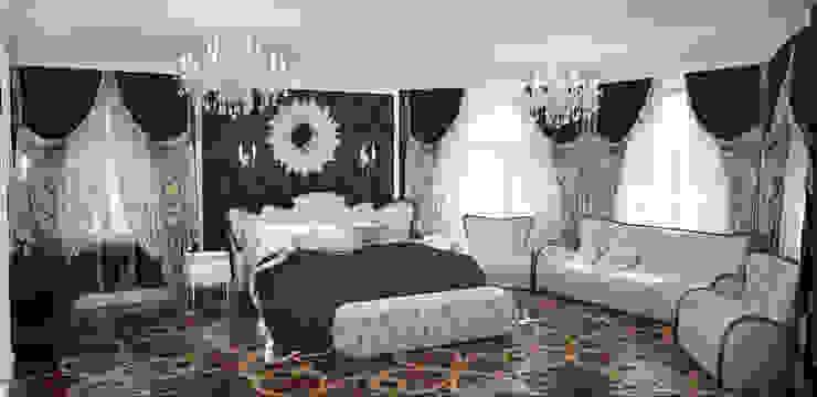 Спальня в загородном доме в подмосковье Спальня в классическом стиле от Гурьянова Наталья Классический