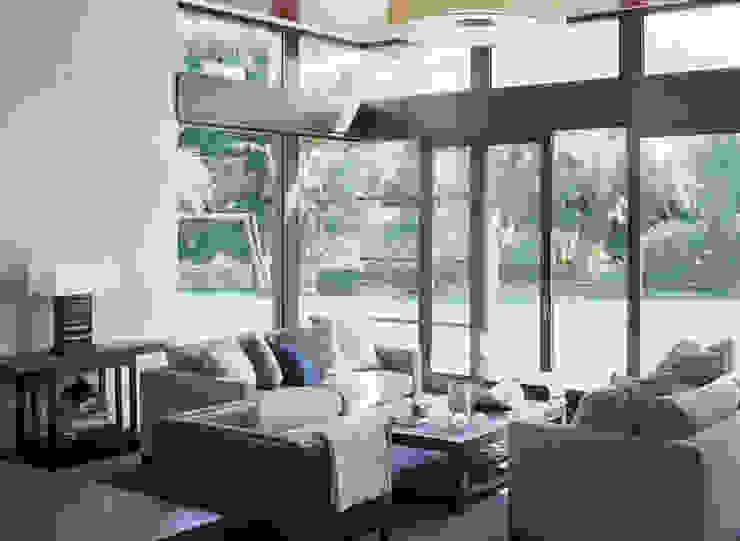 Malibu (Los Angeles) Modern living room by Lewis & Co Modern