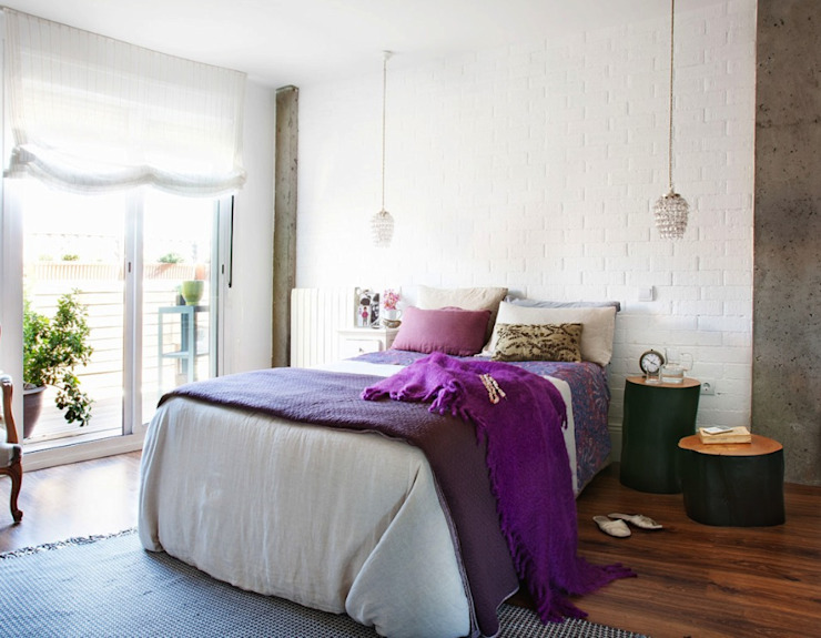 Scandinavian style bedroom by decoraCCion Scandinavian