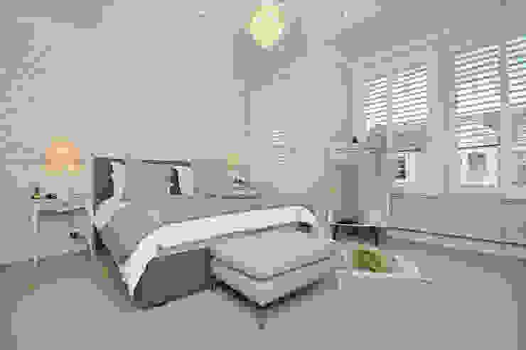 Fulham 1 Modern Yatak Odası MDSX Contractors Ltd Modern