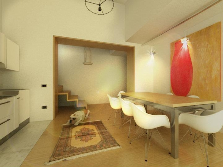 Ruang Makan Modern Oleh maurococco.it Modern