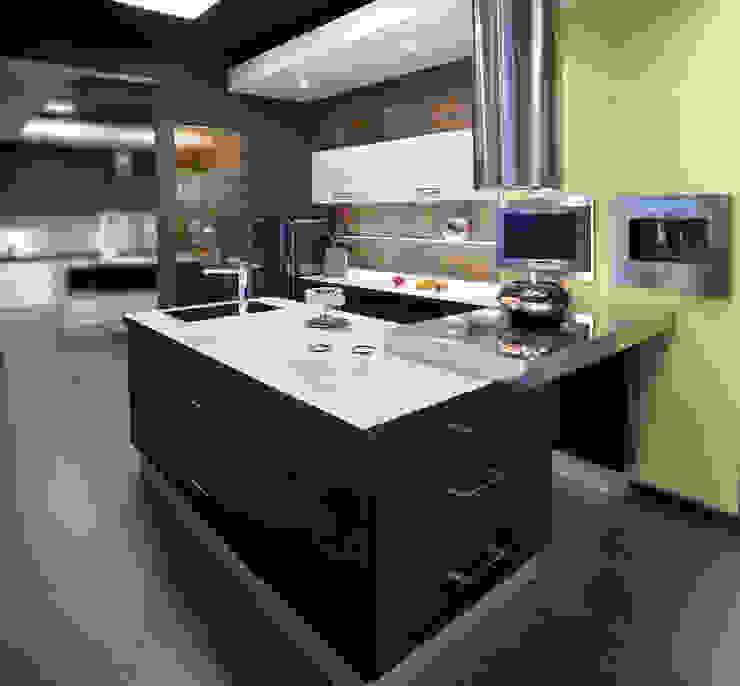 Showroom Getafe Cocinas Rio Cocinas de estilo minimalista