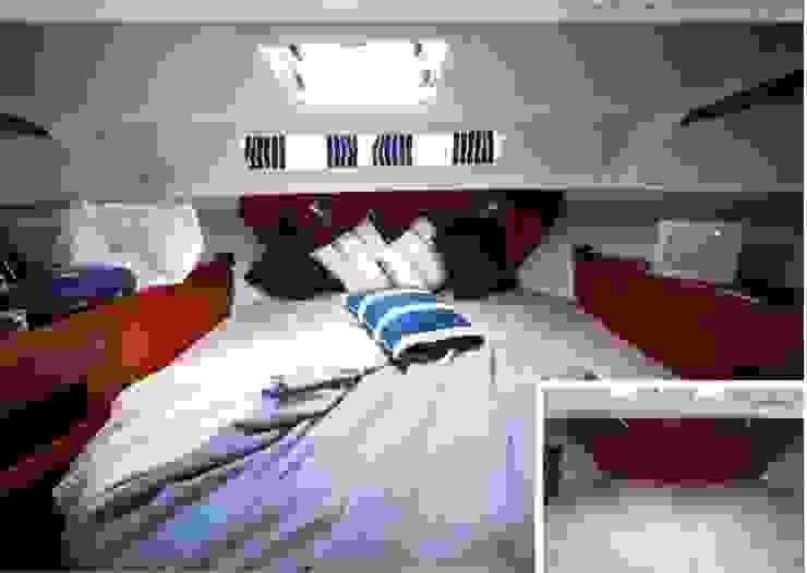 """""""Nimbus"""" Yacht - Gestaltung für Bootsmesse Klassische Yachten & Jets von Münchner home staging Agentur GESCHKA Klassisch"""