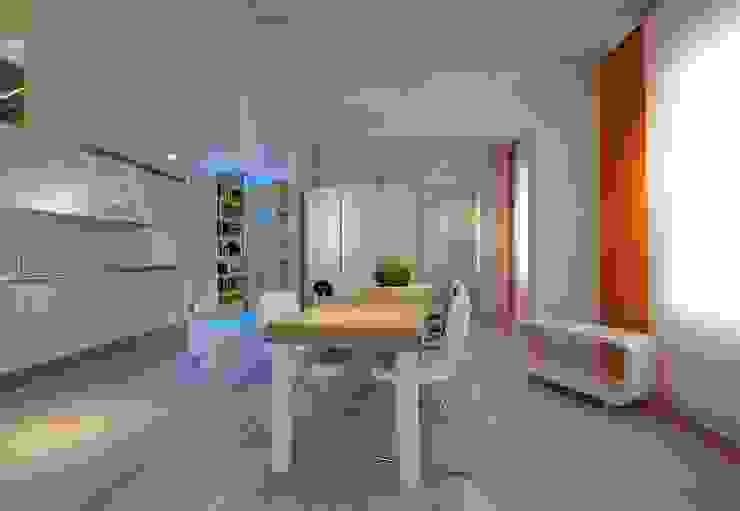 Casa Micheli Sala da pranzo moderna di Simone Micheli Architectural Hero Moderno
