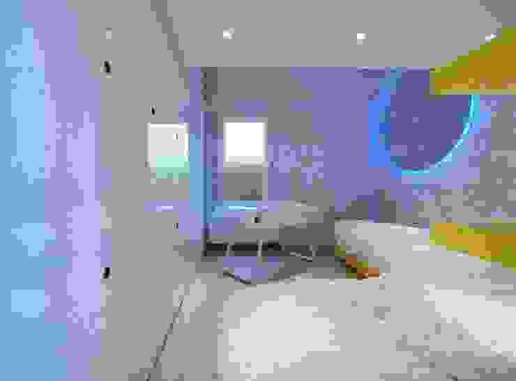 Casa Micheli Camera da letto moderna di Simone Micheli Architectural Hero Moderno