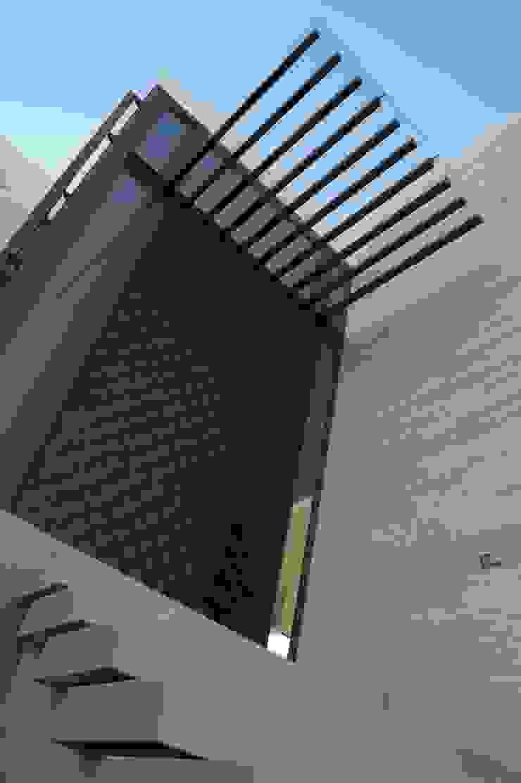 Detalle Casas modernas de Metrik Studio Moderno