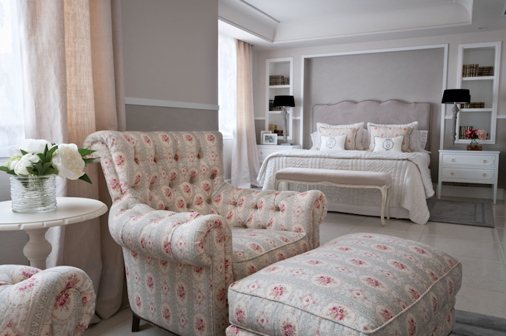 Residencial Adriana F. Lopez - Barajas I Estudio de Interiorismo Dormitorios de estilo clásico