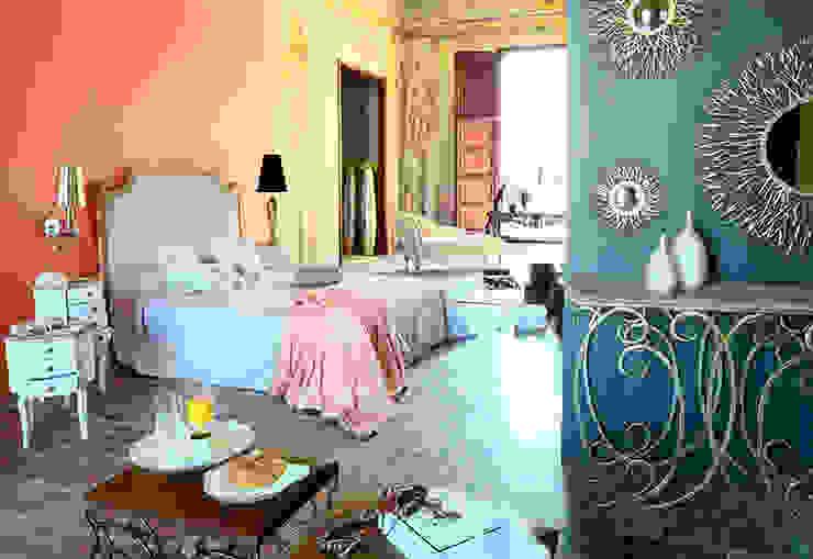 Vicalhome Dormitorios de estilo colonial de Quino Prades Colonial