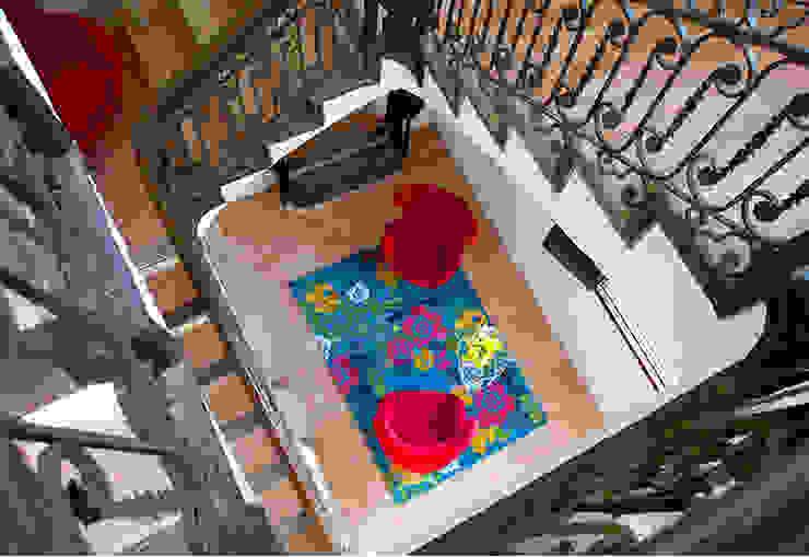 Vicalhome Pasillos, vestíbulos y escaleras de estilo colonial de Quino Prades Colonial