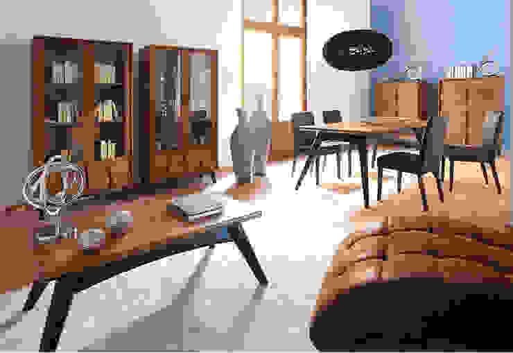Vicalhome Salones rústicos de estilo rústico de Quino Prades Rústico