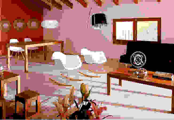 Vicalhome Salones de estilo escandinavo de Quino Prades Escandinavo