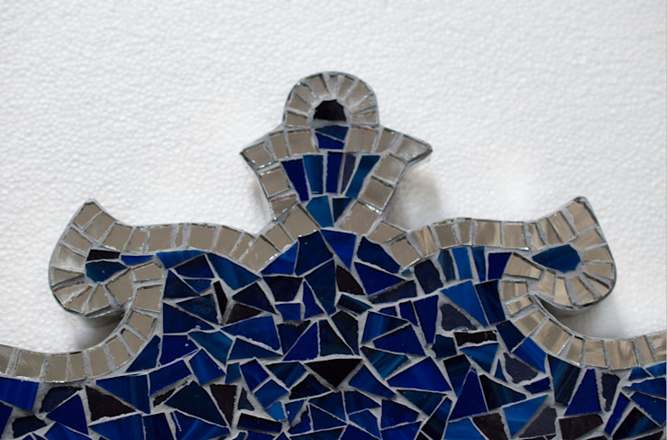 NEW ZEALAND MIRROR de Martin Brown Mosaics Clásico