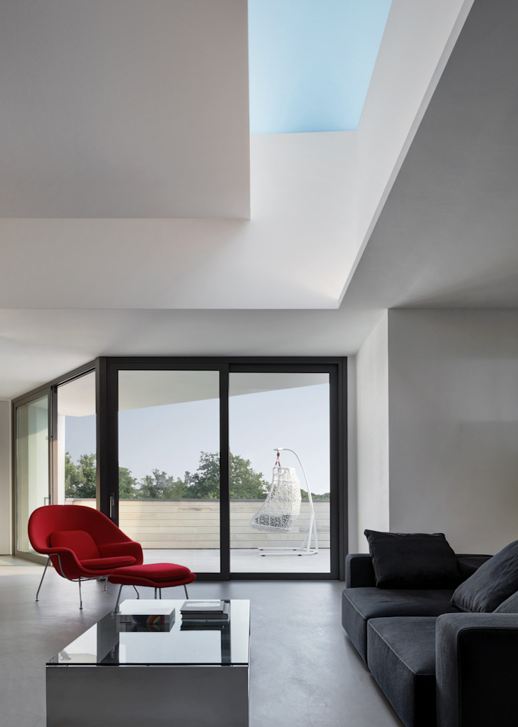 Casa Nervi Soggiorno di Buratti + Battiston Architects