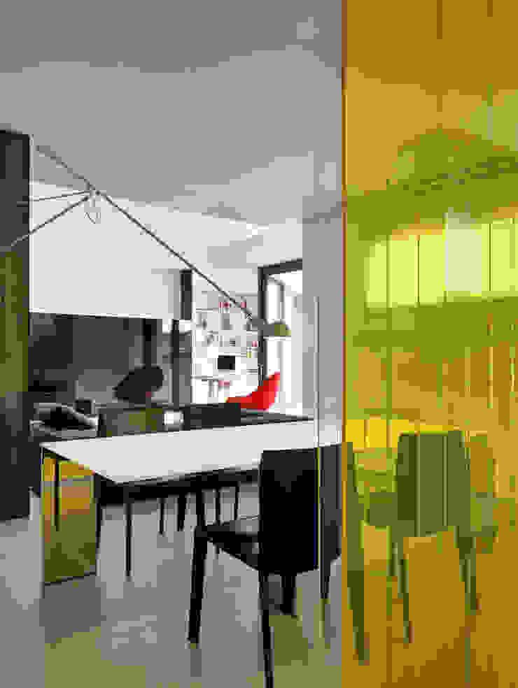 Casa Nervi Sala da pranzo di Buratti + Battiston Architects