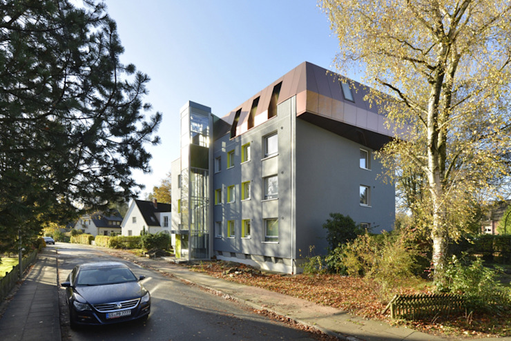 STC17 Ausgefallene Häuser von and8 Architekten Aisslinger + Bracht Ausgefallen