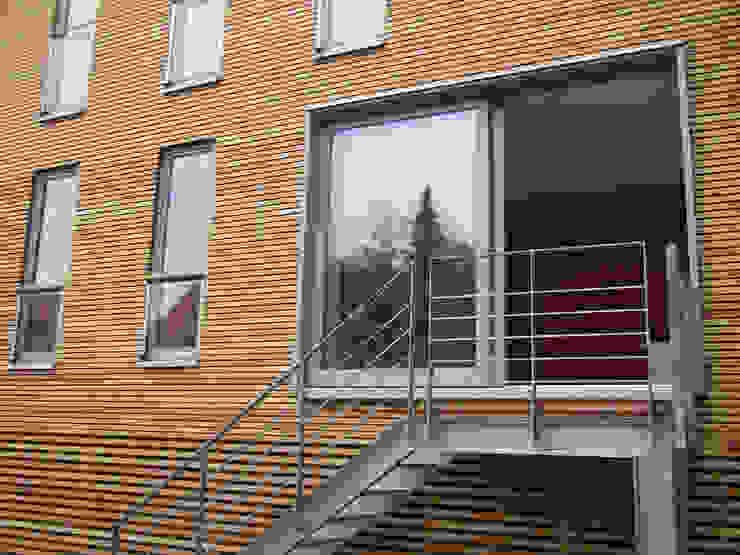 Modern Evler zymara und loitzenbauer architekten bda Modern