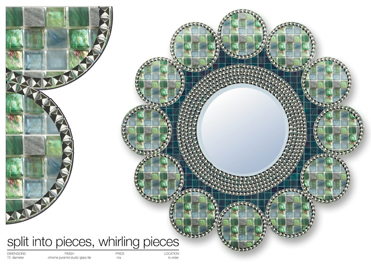 MIRROR COLLECTION 2013 de Martin Brown Mosaics Moderno