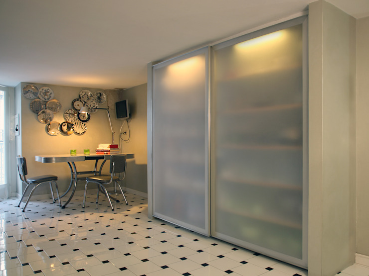 Steel Kitchen Cucina moderna di MAGMA Moderno