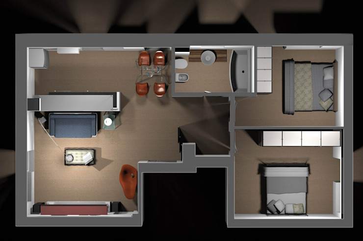 von Marco D'Andrea Architettura Interior Design