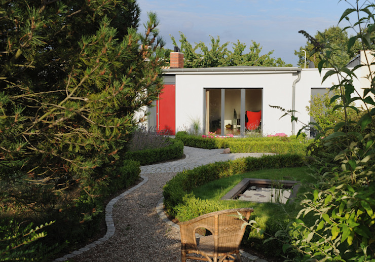 Jardins  por zymara und loitzenbauer architekten bda