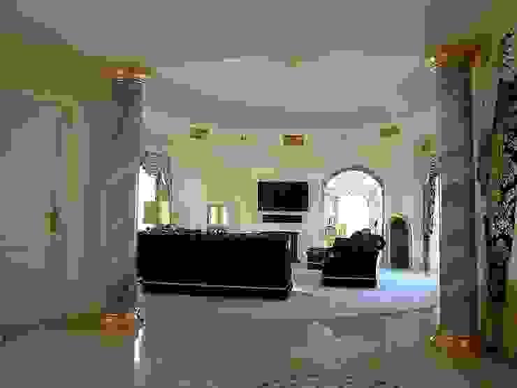 Marmormalerei Klassische Wohnzimmer von Illusionen mit Farbe Klassisch