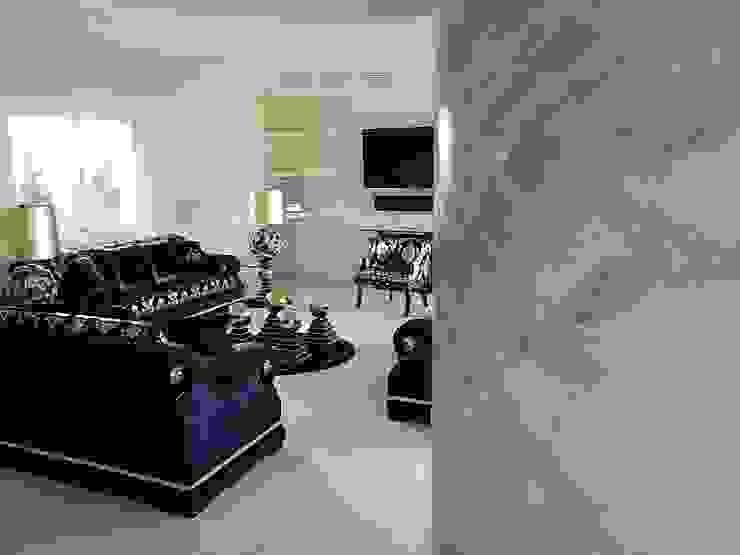 Marmormalerei Mediterrane Wohnzimmer von Illusionen mit Farbe Mediterran