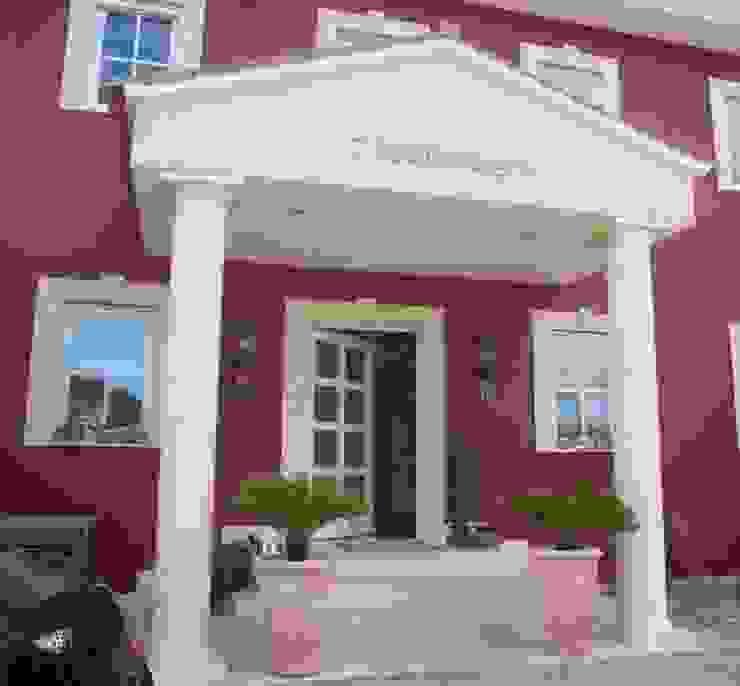 Marmormalerei Mediterrane Häuser von Illusionen mit Farbe Mediterran